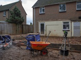 Building site at Milland, West Sussex